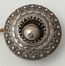 Antique Silver Servants Button  Silver Filigree  Zeeland-Holland