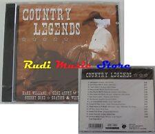 CD COUNTRY LEGENDS SIGILLATO HANK WILLIAMS GENE AUTRY SUSAN RAYE no mc lp (C11)