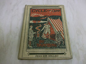 Book. Cycle and Camp. T H Holding. c1898 HB. Camping Tour in Republic of Ireland