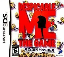 Despicable Me: The Game - Minion Mayhem USED SEALED (Nintendo DS, 2010)