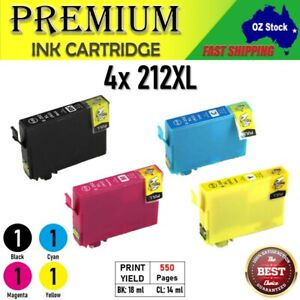 2x 3x 4x Generic Ink 212 212XL For XP-2100 XP-3100 XP-3105 XP-4100 WF-2810