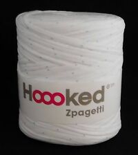 Hoooked Zpagetti T-shirt Jersey Yarn 50m Crochet Knitting White