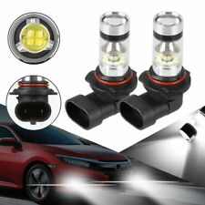 2x H8 H11 H16 3000K Amber Yellow 100W High Power CREE LED Fog Light Driving Bulb