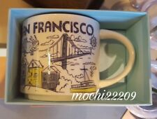 Starbucks Coffee Been There Series Mug 2018 SAN FRANCISCO Cup 14 oz NWT & box