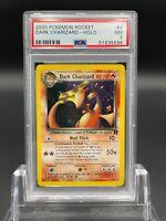 PSA 7 Dark Charizard 4/82 Team Rocket Set Holo Rare Pokemon Card