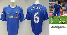 2012-13 Chelsea Home Shirt Signed by Oriol Romeu No.6 - Rare Shirt (10178)