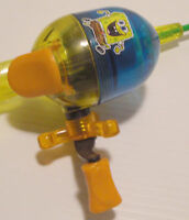 Collectible SpongeBob Floating Zebco Fishing Rod & Reel Combo Rare Sponge Bob