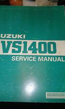 SUZUKI VS1400 manuale per officina fabbrica CONCESSIONARIO