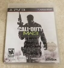 Call of Duty: Modern Warfare 3 (Sony PlayStation 3, 2011) PS3 COD MW3 Video Game