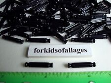 "100 BLACK RODS 1 5/16"" Long Pieces Bulk Standard KNEX Replacement Parts Lot"
