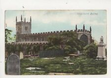 Deane Church Bolton Lancashire Vintage Postcard 380b