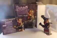Blade Marvel Universe Resin Bust Premium Diamond Select Statue ~ COA ~ NIB