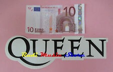 ADESIVO STICKER QUEEN 21X7 CM FREDDIE MERCURY ***no cd dvd lp mc vhs promo live