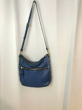 Marc by Marc Jacobs Cobalt Blue leather crossbody large purse handbag