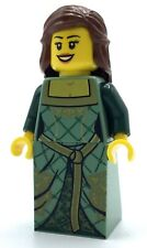 LEGO NEW GREEN PRINCESS MINIFIGURE FANTASY ERA KINGDOMS GIRL CASTLE FIGURE