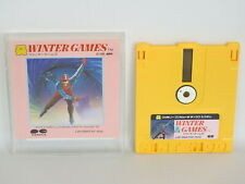 Famicom Disk WINTER GAMES No Instruction Nintendo Japan Game dk