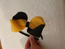 Madelienas  Twister large  bow 2x tone colours headband