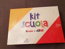 Kit scuola Kinder + esta the Ferrero Italien 2018