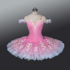 Professional Pink Aurora Sugar Plum Coppelia Doll Floral Ballet Tutu MTO YAGP