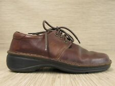 Naot Brown Leather Shoes Women's Size US 9-10 EUR 40 Lace Up Oxford NAOT