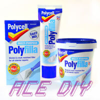 Multi Purpose Filler   Powder or Ready Mixed   Polycell Polyfilla One Hour Caulk