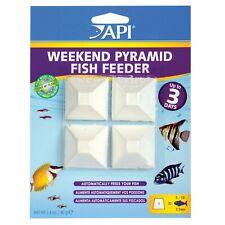 API Weekend Pyramid Fish Feeder Automatic Feeding Block 3 Days Vacation Holiday