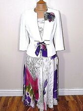 A7 Medici Jacket Top & Skirt  Mother of The Bride Outfit  UK Size 10 RRP £499