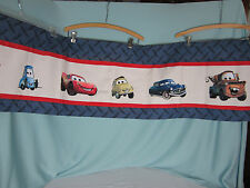 Juvenile Curtains Disney Pixar Cars Print Valance Panel 58.5 ins by 14.5 in long