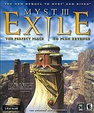 MYST III Exile for PC CD-ROM Windows & Macintosh Computer Game 4 DISC SET
