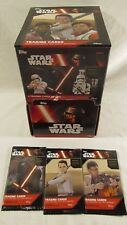 Topps Star Wars The Force Awakens 4 card Pack Dollar Tree Lot of 137