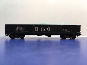 "HO Scale ""Baltimore & Ohio"" 264778 40' Open Gondola Freight Train Car W/Gravel"