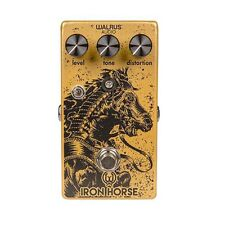 Walrus Audio Iron Horse V2 Distortion True Bypass Guitar Effects Pedal