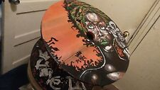 Table Erykah Badu Spool table Hand painted (One of a Kind)
