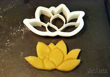 3D Printed Lotus Cookie Cutter