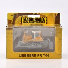 1:87 Scale Alloy Diecast LIEBHERR PR 744 Crawler Engineering Car Model Toy Gift