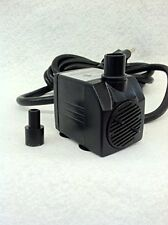 Small Submersible Fountain, Aquarium, Hydroponics Pump 93 GPH - APJR350