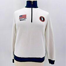 Ralph Lauren Blue Label Olympic Team USA 2014 1/4 Pullover Sweatshirt Womens XL