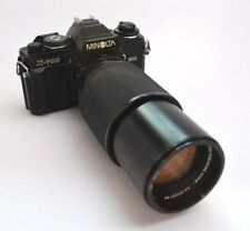 Minolta X-700 MPS 35mm SLR TOP! + Vivitar Tele Zoom Lens 3,8 / 75-205 mm f51