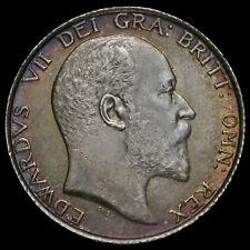 1902 Edward VII Silver Shilling, G/EF #2