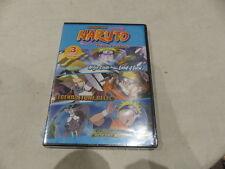SHONEN JUMP NARUTO TRIPLE FEATURE DVD SET NEW