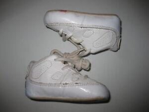 Nike Air Jordan IX 9 Retro White Crib 2C Infant Booties 304153-111