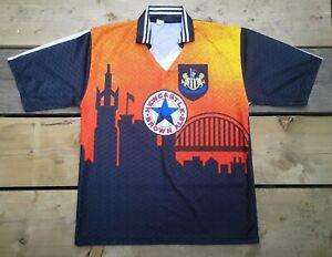 Newcastle United 1995-96 Tyne Skyline Goalkeeper Tribute(!) Shirt. XL (Fit M/L).