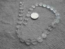 Disco de cristal Strand cuentas ~ 10 mm ~ ~ Transparente Claro