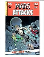 MARS ATTACKS FIRST BORN SUB COVER #4 AUG 2014 IDW COMIC.#107421D*8 CVP $3.99