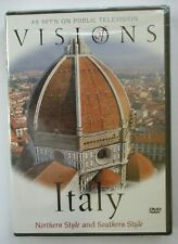 VISIONS OF ITALY DVD - NORTHERN AND SOUTHERN STYLE - BRAND NEW