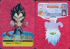* CARD DRAGONBALL GT * VEGETA  * R 14 *