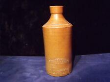 Antique 1890s STONEWARE Ink Bottle J BOURNE & SON Denby Pottery PJ ARNOLD LONDON