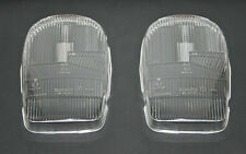 MERCEDES BENZ SL W113 PAGODE SET H1 FLAT HEADLIGHT LENSES BOSCH 1305630067 NEW