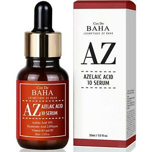 Facial Serum Azelaic Acid 10% B3 for Rosacea Acne Pimple Pigmentation Blackhead