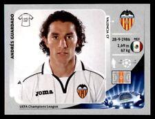 Panini Liga de Campeones 2012-2013 Andrés Guardado Valencia CF no. 402